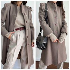 Vintage 60' Central Park Dress Coat